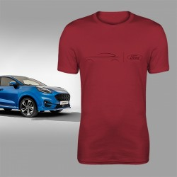 Ford PUMA T-Shirt (red)