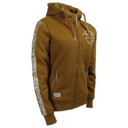 "SWEAT JACKET ""JAZZ"" cinnamon"