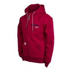 "SWEAT JACKET ""SHILOH"" red 