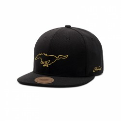 Ford Mustang Gold Baseball Cap