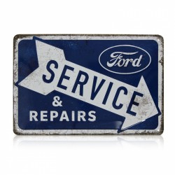Blechschild: Ford Service &...