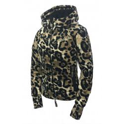 "FLEECE JACKET ""ABBY"" leopard"