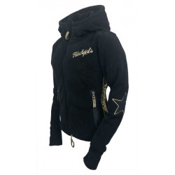 "FLEECE JACKET ""ABBY"" BLACK"