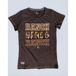 "T-SHIRT ""Ranch"" chocolate"