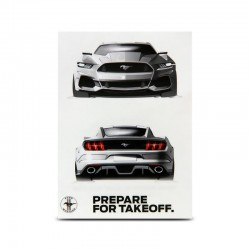 Ford Mustang Sticker,...