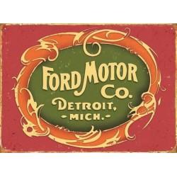 Blechschild: Ford Motor...